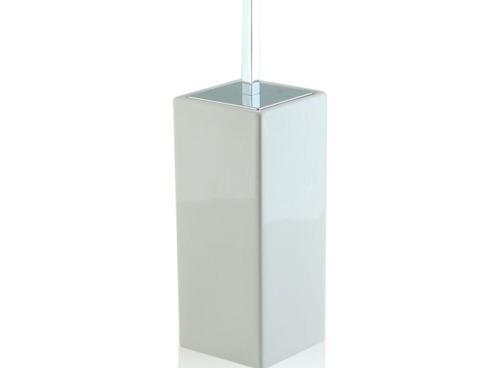 Porta Scopino Da Bagno : Portascopino da bagno quadrato bottiglioni