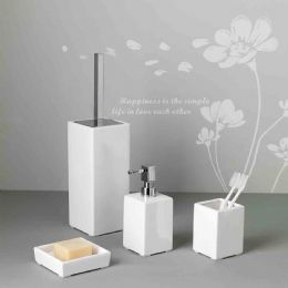 Set Accessori Bagno Ceramica.Set Accessori Bagno Magic Cube Palio