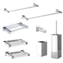 Linea picasso accessori bagno for Kit accessori bagno