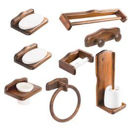 Kit accessori bagno Mathilde 8 pezzi Metaform