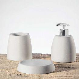Set accessori bagno da appoggio,arredo bagno