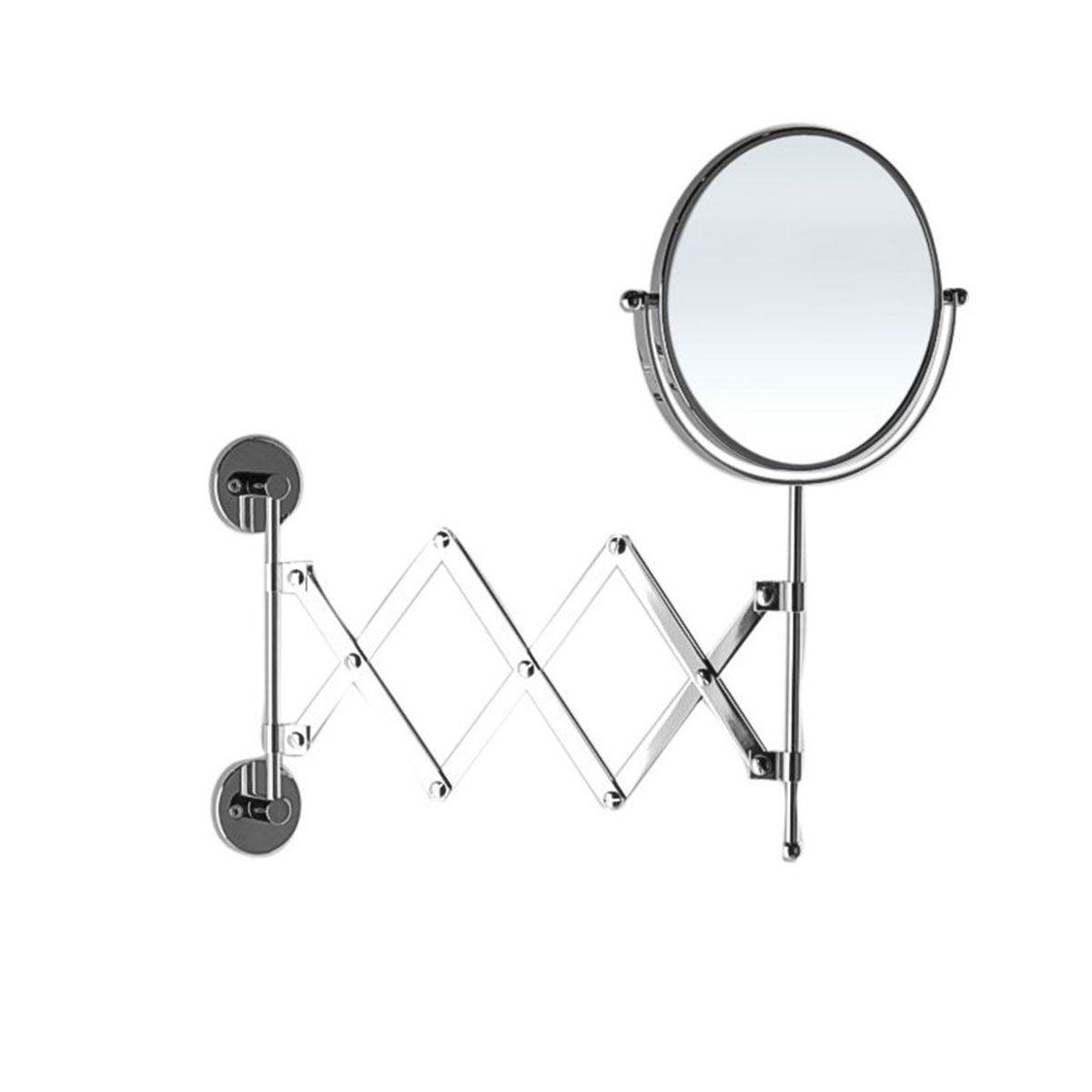 Specchio Ingranditore Da Bagno.Specchio Ingranditore Da Bagno Estensibile Con Doppia Faccia Bottiglioni