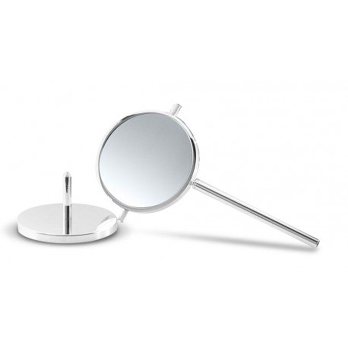 Specchio ingranditore da bagno da appoggio estraibile bottiglioni - Specchio ingranditore bagno ...