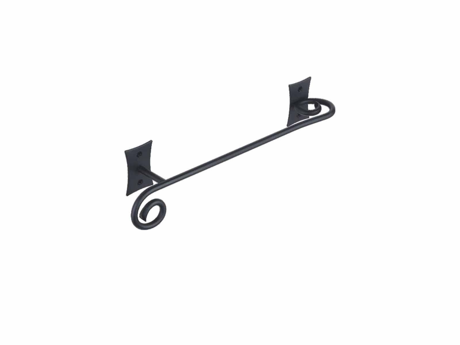 Porta Asciugamani Da Bagno In Ferro Battuto : Accessori bagno ferro battuto nero